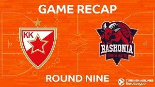 Highlights: Crvena Zvezda mts Belgrade - Baskonia Vitoria Gasteiz