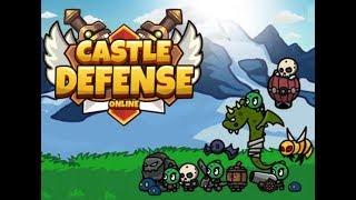 CASTLE DEFENSE ONLINE GAME WALKTHROUGH