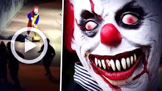 L'ATTAQUE D'UN CLOWN TUEUR EN FRANCE A ÉTÉ SURPRISE (Thread Flippant)