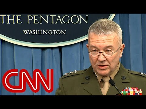 Pentagon: Every Syrian target hit successfully