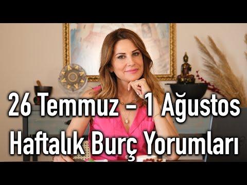 BEN BİLİRİM! - 26 Temmuz - 1 Ağustos Haftalık Burç Yorumları - Hande Kazanova ile Astroloji