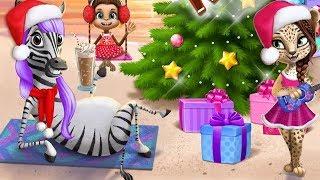 Мультики #для детей ПРИЧЕСКИ и НАРЯДЫ в салоне для животных Мульт Игра для девочек #Малышерин