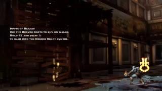 God of War 3 remastered. Quick run