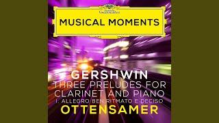 Play Three Preludes I. Allegro ben ritmato e deciso (Adapted f