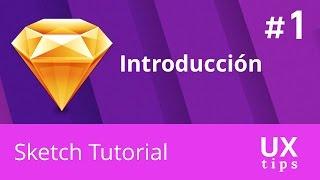 Sketch App Tutoriales en Español - #1 Introducción Diseño Web