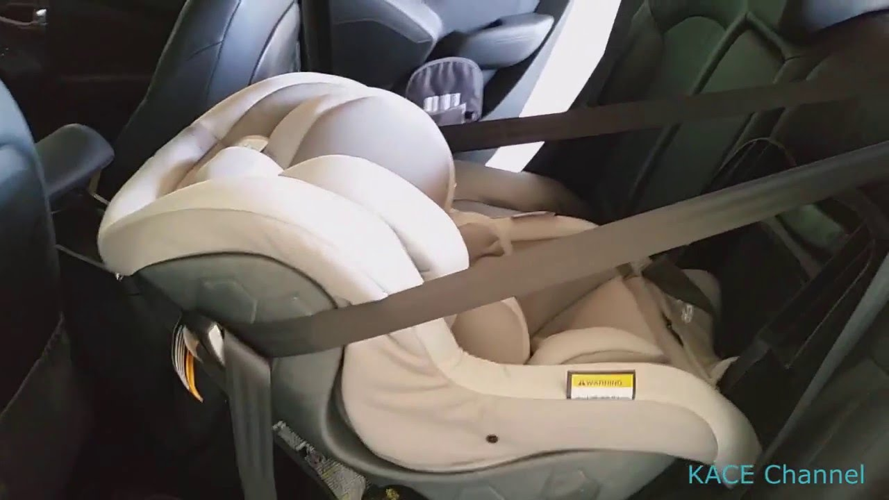 How to install Maxi Cosi Euro NXT Isofix baby car seat rear facing ...