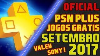 Jogos Grátis da PSN Plus mês SETEMBRO de 2017 [OFICIAL] Brasil !! Valeu SONY !!