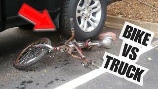 CRUSHING SATISFYING THINGS! Bike VS Truck video #6