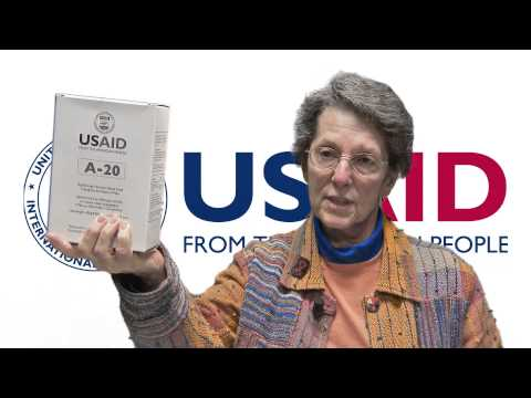 Innovative Food Products Save Children in Emergencies: USAID Nutrition Advisor Judy Canahuati