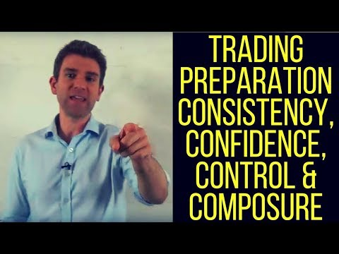 Trading Preparation: Consistency, Confidence, Control & Composure 👊
