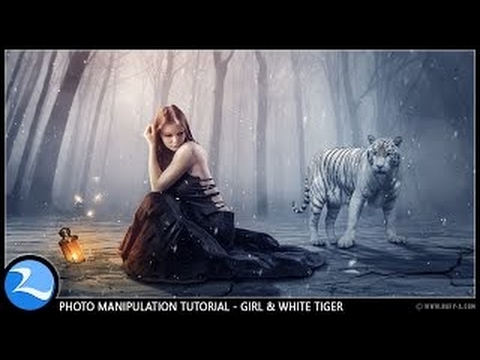 Girl & Fantasy - Photoshop Manipulation