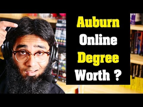 🤔Question - Is the University of Auburn Online Degree Worth it ?