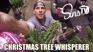 Christmas Tree Whisperer || Johnny Sins Vlog # 28 || SinsTV