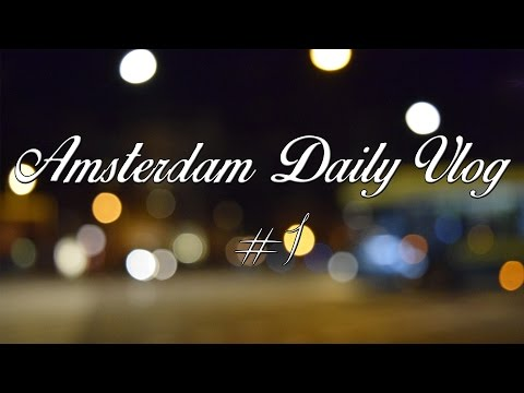 Amsterdam Daily Vlog #1 | ARRIVO, PATATE & DROGA