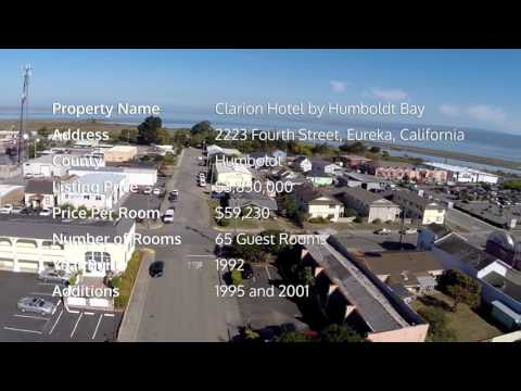 Clarion Hotel By Humboldt Bay  | Hotel For Sale In Eureka California
