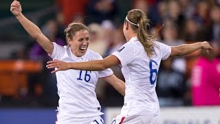 Megan Klingenberg's Stunning Goal against Haiti