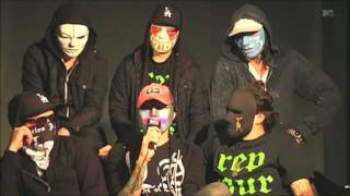 Hollywood Undead Interview @ MTV Buzzworthy Blog