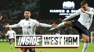 Inside West Ham: Hammers 0-2 Liverpool | Behind-the-scenes TUNNEL CAM from London Stadium