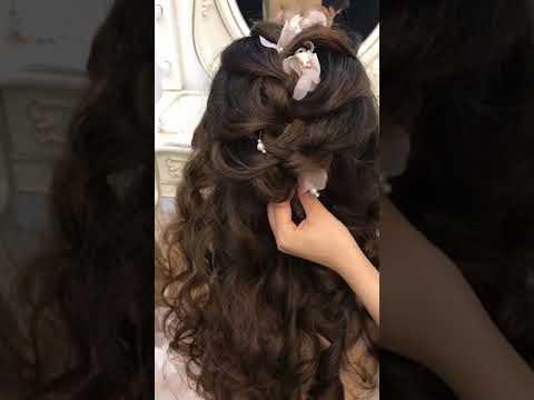 Hướng dẫn tạo kiểu tóc Hàn Quốc cho cô dâu by Mai Đỗ Makeup