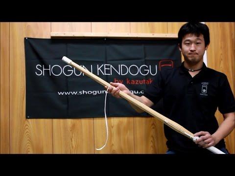 How To Tie The Nakayui Around Your Shinai