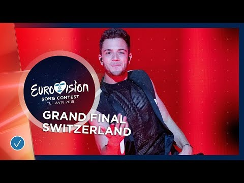 Switzerland - LIVE - Luca Hänni - She Got Me - Grand Final - Eurovision 2019