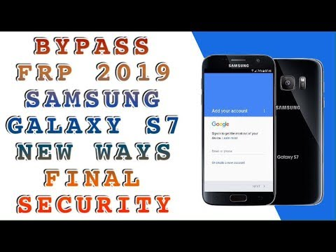 FRP 2019 ALL SAMSUNG S7 SM-G930F BYPASS FRP / ANDROID 8 0 0 REV U3