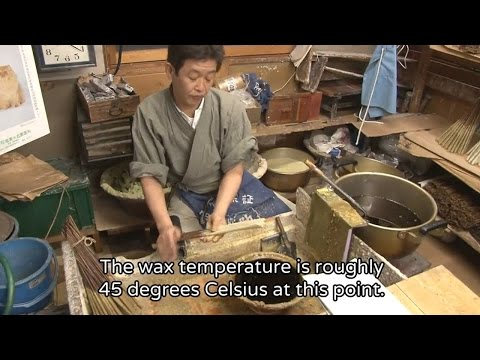 THE MAKING(English Version)(264)The Making of Candles