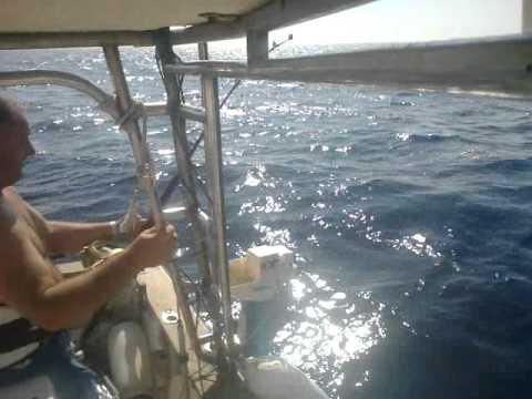 Tuna 48.5kg- drifting -Montenegro August 2012