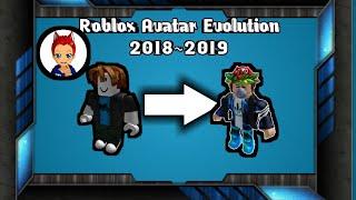 Roblox Avatar Evolution 2018~2019[Tagalog]  Kingroblox James