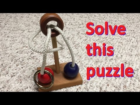 Solve this ring-and-rope puzzle
