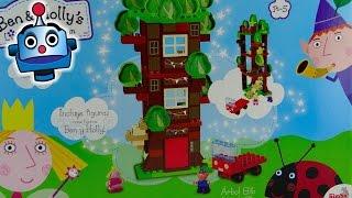 Ben y Holly Arbol Elfo Juego de Construcción Tree Elves - Juguetes de Ben y Holly