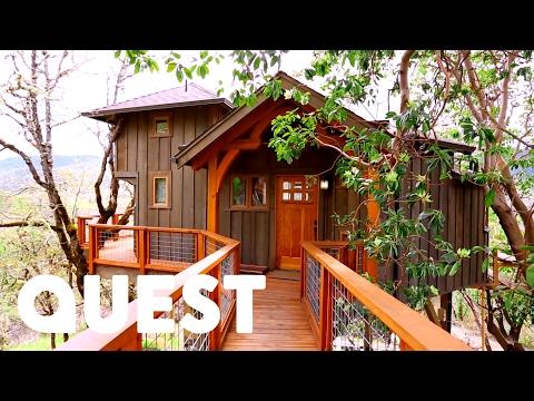 Amazing Mountain View Treehouse | Treehouse Masters