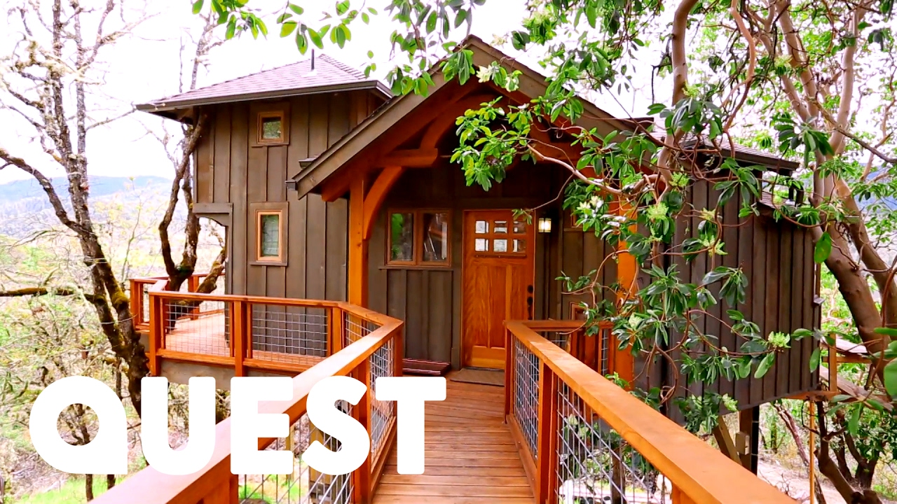 amazing mountain view treehouse treehouse masters