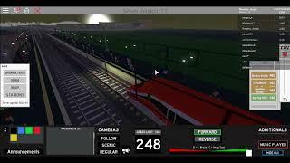 VÍDEO MORTO ETR 500 EM ROBLOX TERMINAL RAILWAYS