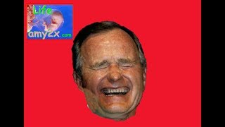 George HW  Bush Laughs at JFK Assassination!
