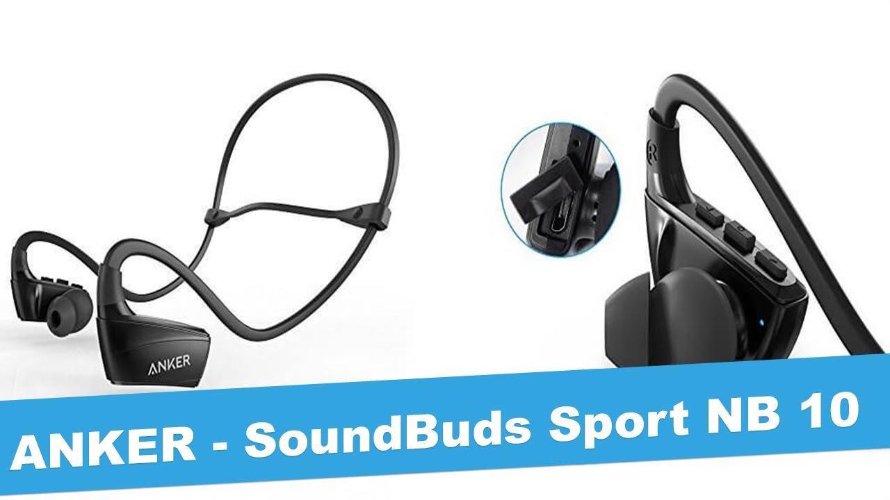 07f76dbf362 ANKER SoundBuds Sport NB 10 - Unboxing - Review - JetLoneStarr - YouTube