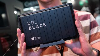 WD_Black P10, D10 & P50 external HDD and SSD #Gamescom2019