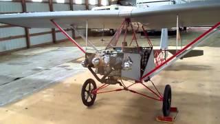 Испытание самодельного самолёта.