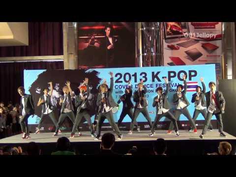 "130907 ""Millenium Boy cover EXO"" - Wolf + Growl + MAMA @2013 K-POP COVER DANCE FESTIVAL"