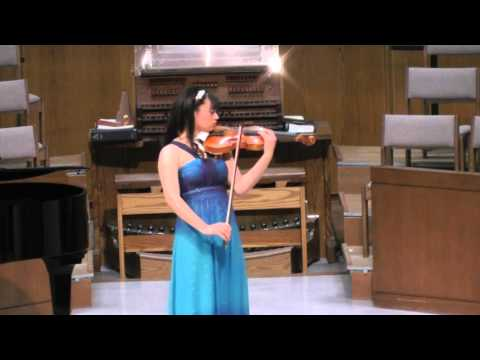 Deep River, arr. Coleridge-Taylor - Annelle K. Gregory, violin