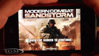 Review: Modern Combat Sandstorm for iPhone, iPod Touch