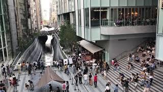 開業した、「渋谷ストリーム」と「渋谷川」の様子 2018.9.16
