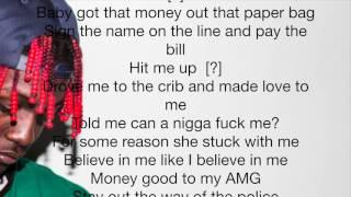Lil Yachty Kiss The Money ( LYRICS ) ft. Lovele$$
