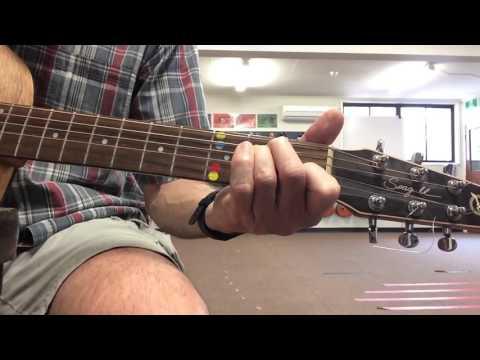 Guitar Practice E A B7