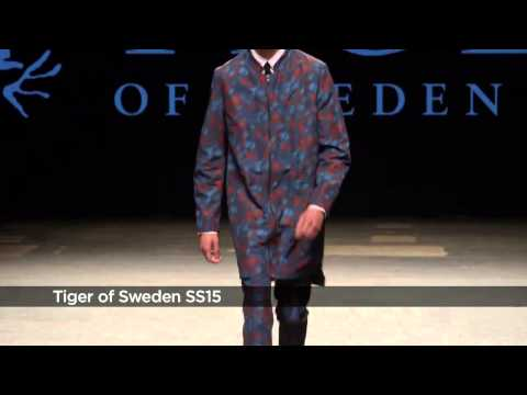 Tiger Of Sweden SS15 At London Collections Men