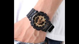 Casio G-Shock GA-110GB-1AER відео огляд і налаштування