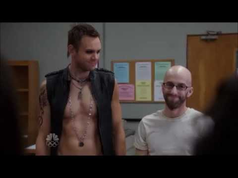 Community - Jeff touches the Dean