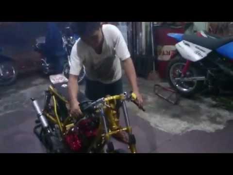 Setting Drag Bike Yamaha RXZ Villa Tomang Tangerang Sam-Boy