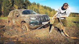 Новый Prado за трактором в пашню?! Японский УАЗ с дизелем против Русской грязи! Бездорожье 2018/2019