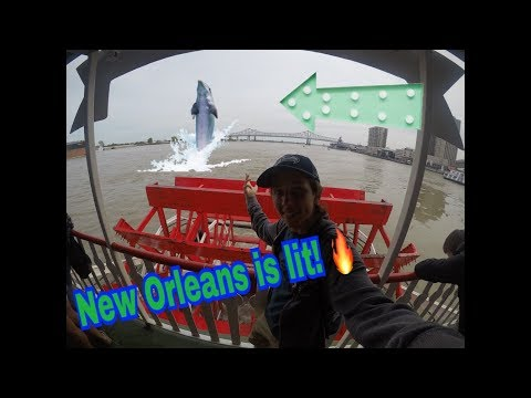 New Orleans Vlog #2 *Jazz and Cruise*